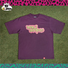 [Bank2Brothers]Fresh Brothers T-Shirts - Purple