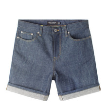 [Piece Worker]Premium Short - Indigo / Little Half
