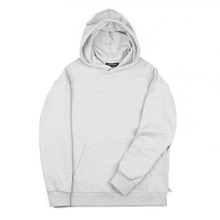 [Piece Worker]Heavy hoodie side zipper - Melange