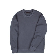 [Piece Worker]Vintage heavy sweat shirt side zipper - Charcoal
