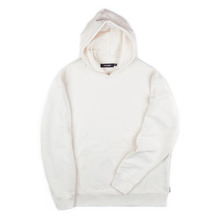 [Piece Worker]Heavy hoodie Side zipper - Ivory