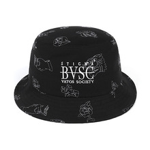 [STIGMA]STAY HIGH STAY COOL BUCKET HAT BLACK