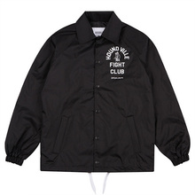 [HOUNDVILLE] FC Coach Jacket - Black