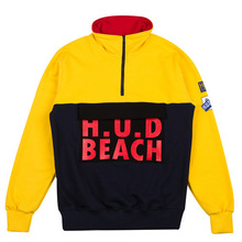[HOUNDVILLE] H.U.D Half Zip-Up - Yellow
