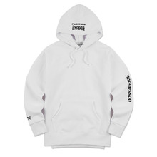 [Andersson Bell] UNISEX UNBALANCE YOUTH HOODIE atb098 - White