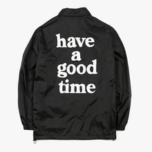 [Have a good time](30%세일) Coach Jacket - Black