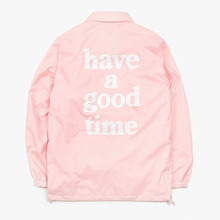 [Have a good time](30%세일) Coach Jacket - Pink