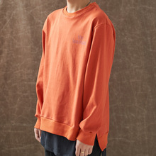 [WANTON] (30%OFF) BASIC LOGO SWEATSHIRTS - ORANGE