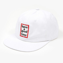[Have a good time] Frame 6 Panel Cap - White