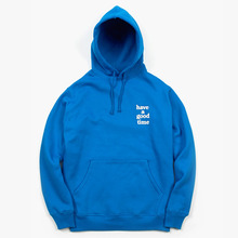 [Have a good time](30%세일) Logo Pullover - Blue