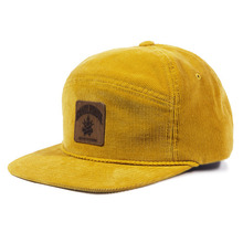 [Candlroute] Corduroy Snapback - Mustard