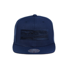 [Mitchell&Ness] Ne18z-Ebra 2 Tone Label Snap NV/NV