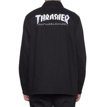 [HUF x Thrasher] TDS Chore Jacket - Black