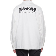[HUF x Thrasher] TDS Chore Jacket - Off White