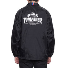 [HUF x Thrasher] TDS Coach's Jacket - Black