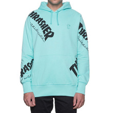 [HUF x Thrasher] TDS Allover Hood - Mint