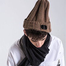 [AVENOIR] Brown Beanie - Brown