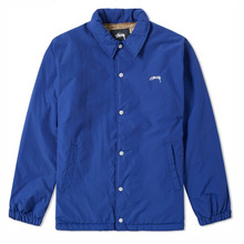 [Stussy] (10%세일) Smooth Stock Coach Jacket - Navy