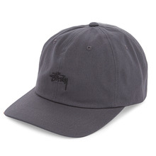 [Stussy] (10%세일) Stock Low Cap - Charcoal
