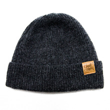 [Candlroute] Mantle short beanie (Charcoal)
