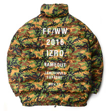 [IZRO X NAME OUT] Oversized Duckdown Jacket - Camo