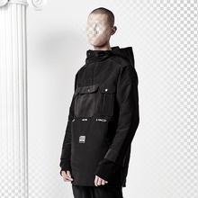 [ANTIMATTER](30% SALE) 3 Poket Long Anorak_Black