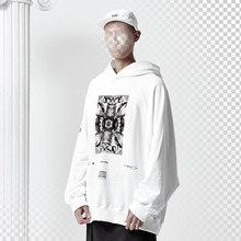 [ANTIMATTER]Chaos oversize hoodie_White