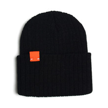 [RUSH OFF] Unisex Newness Orange Label Basic Beanie