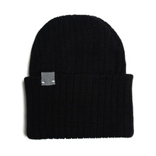 [RUSH OFF] Unisex Newness Gray Label Basic Beanie