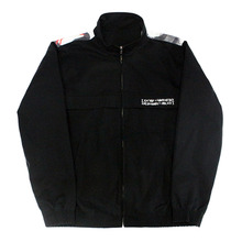 Who R U Track Top - Black