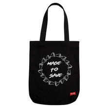 [DLUV] Made To Save  Eco Bag  - Black