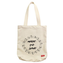 [DLUV] Made To Save Eco Bag - Ivory