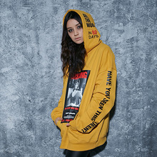 [AROUND80] Missing Cleo Hoodie - Mustard