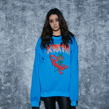 [AROUND80] Scorpion Sweat Shirts - Blue