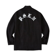 [ATAR] PSLN SYNC COACH JACKET - BLACK