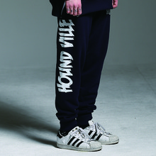 [HOUNDVILLE] 40%할인 WATERPROOF ZIP sweat pant navy