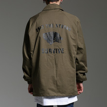 [HOUNDVILLE] 40%할인 SURVIVE coach jacket khaki