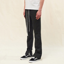 [SLEAZY CORNER] CUFFS SLIM PANTS-CHARCOAL
