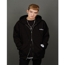 [A.Clown] Renewal Hoodie Zip-Up - Black