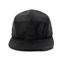 [UNIVERSAL CHEMISTRY] Camo Patch Campcap - Black