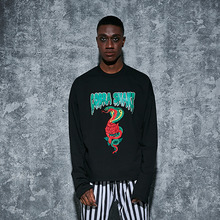 [AROUND80] Cobra Long Sleeves - Black
