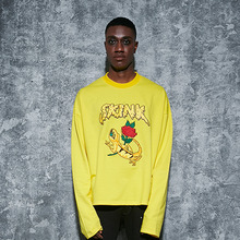 [AROUND80] Skink Long Sleeves - Yellow