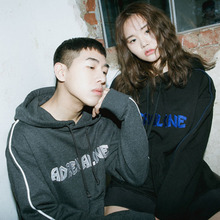 [Double adrenaline syndrome] Signature piping hoodie