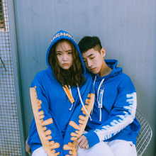[Double adrenaline syndrome] S/S BLOODY hoodie