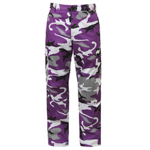 [Rothco] Color Camo Tactical BDU Pant - Violet Camo