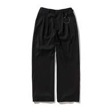 [ANTIMATTER]Ring Wide Pants-Black