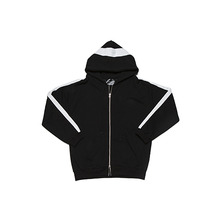 [WANTON] vol.1 zip-up hoody black