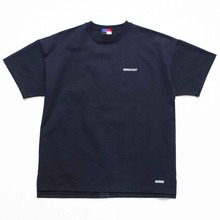 [OURHISTORY]Tape Logo T-shirt_Navy