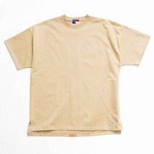 [OURHISTORY]Tape Logo T-shirt_Beige
