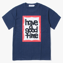 [Have a good time] Fat Frame S/S Tee - Navy